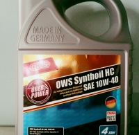 OWS Synthoil HC SAE 10W-40 (4 Litre)
