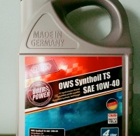 OWS Synthoil TS SAE 10W-40 (4 Litre)